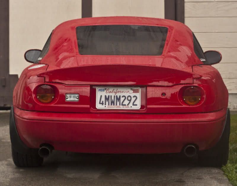 NA] Garage Vary Taillights, Pictures please? - MX-5 Miata Forum