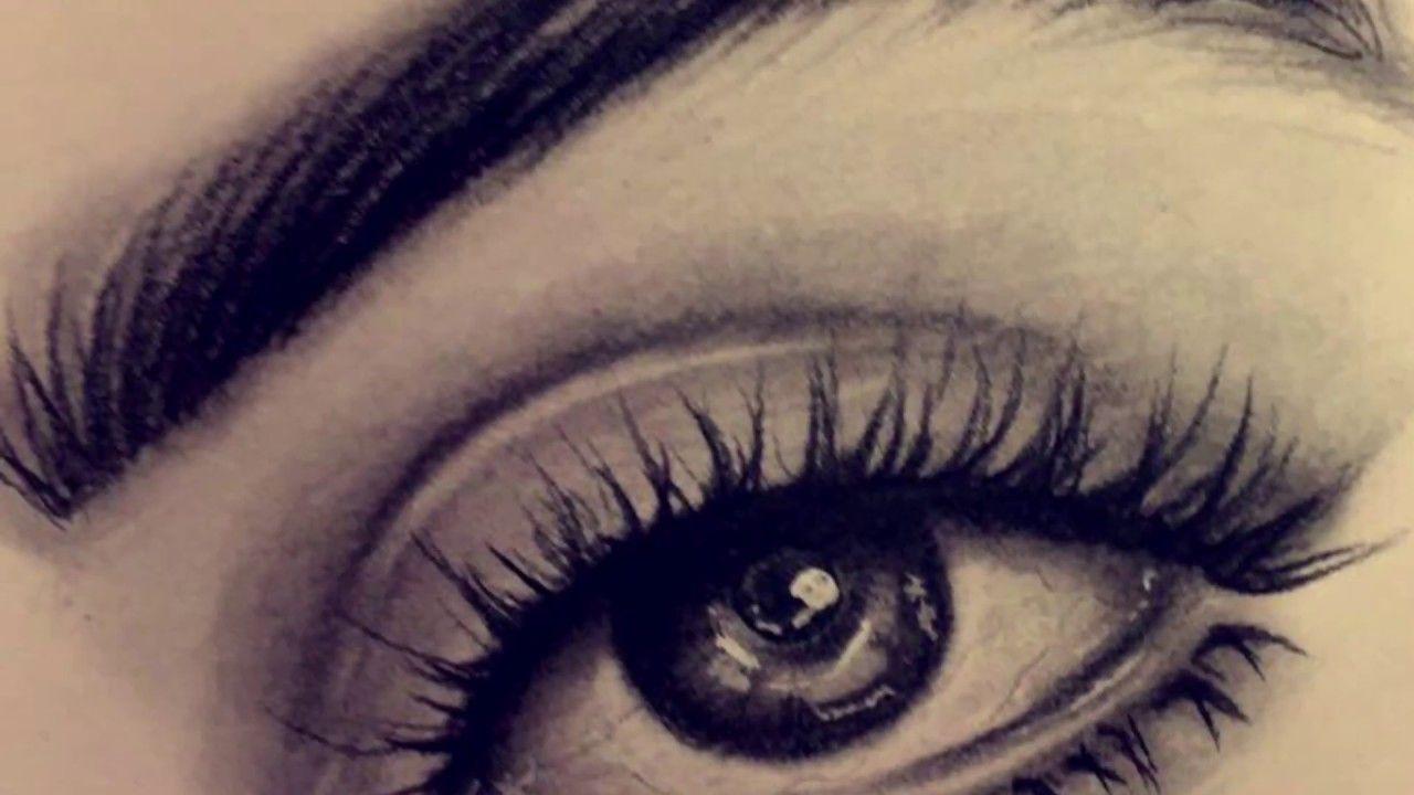 تعلم رسم العين بالرصاص بالخطوات Youtube Art Lessons Art
