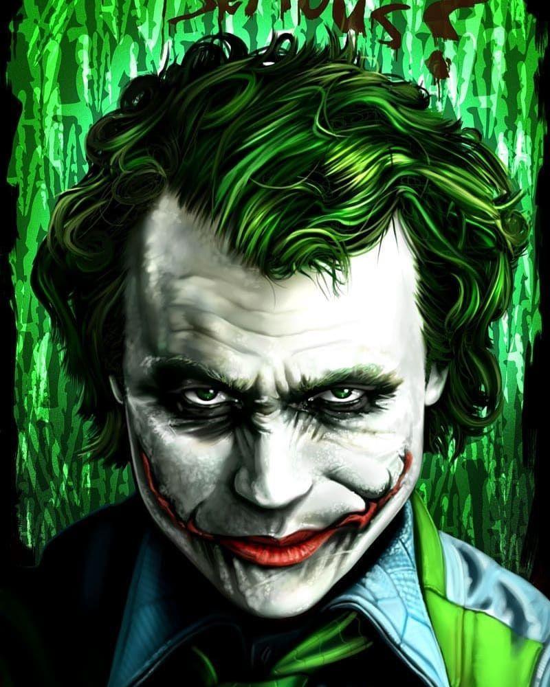 The Joker On Instagram Jokerlovers Desenhos Do