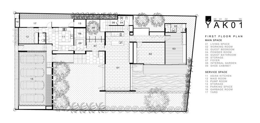 Traditional architecture house plans