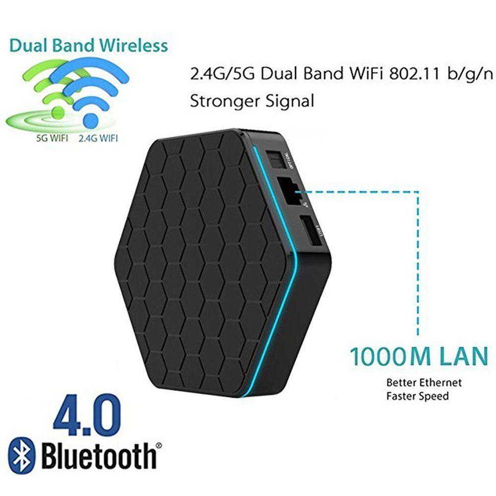 High Qualtiy Internet Tv Set Top Box T95z Plus 3gb 32gb codi
