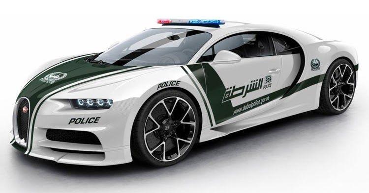 A Bugatti Chiron For Dubai S Police Force Could Look Like This Carscoops Bugatti Chiron Bugatti Police Cars