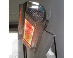 Electric Patio Heaters   Infrared Wall Mounted Patio Heater By Outdoor  Living