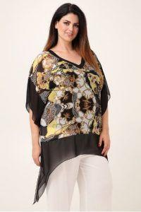 f6ff740e2984 Γυναικεία Plus size ρούχα Parabita για το καλοκαίρι από 10 | Plus size -  Ρούχα μεγάλα μεγέθη! (XXL) | Sleeves, Blouse και Plus size