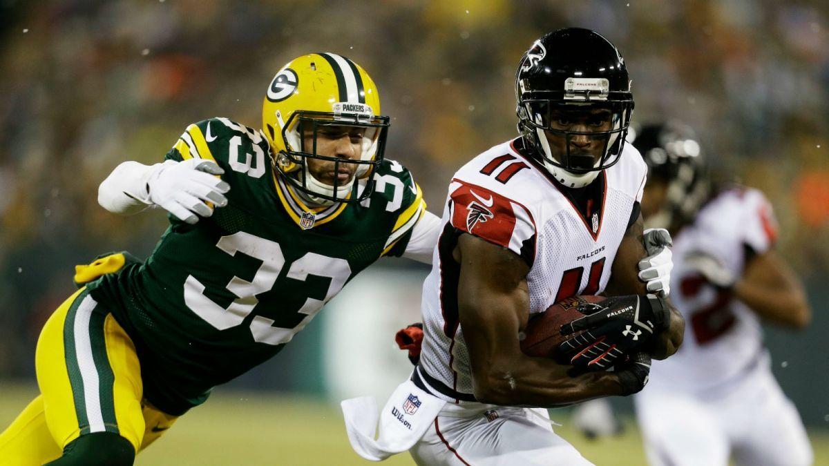 Packers Employing Bold Strategy Vs Julio Jones You Ve Got To Pray Green Bay Packers Julio Jones Packers Football