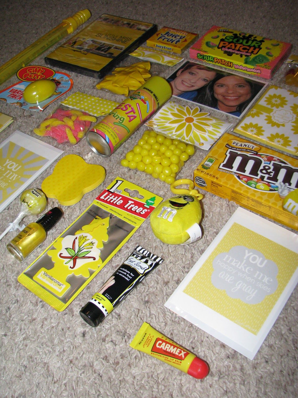 Box of sunshine a perfect way to brighten anyones day