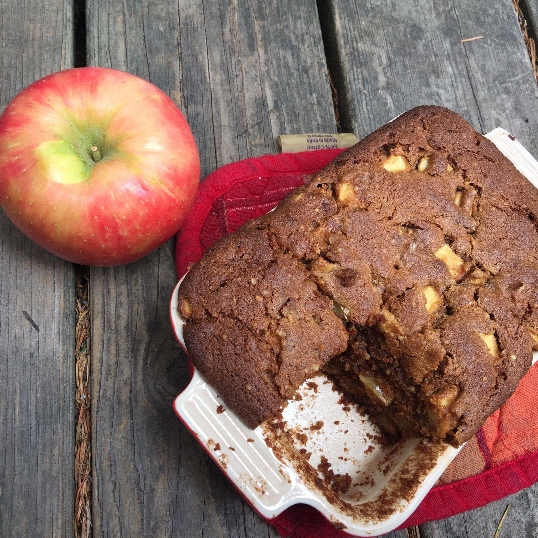 Malted apple cake recipe