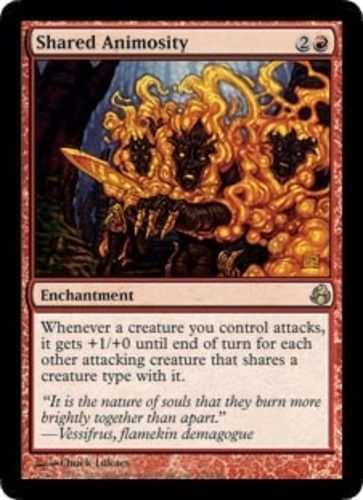 Red Dark Ascension Mtg Magic Rare 1x x1 1 PLAYED Increasing Vengeance