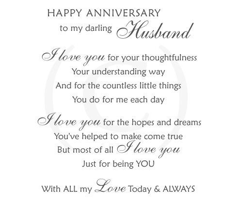 Hy Anniversary Wedding Quotes For Husband Fo
