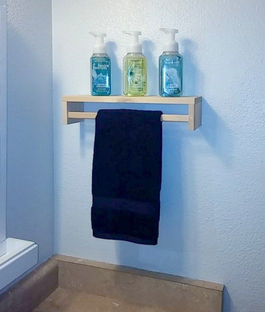 Replace Your Bathroom Shelves With These 13 Creative Ideas | Spice ...