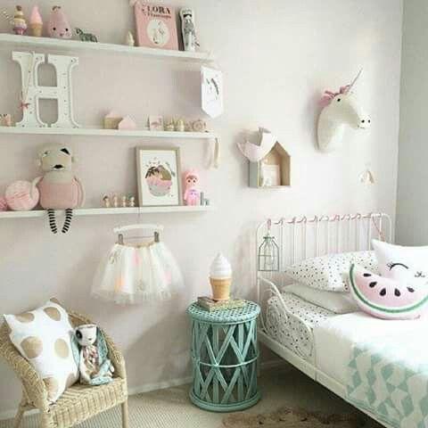 Kinderzimmer, Minze Mädchenraum, Süße Mädchen, Kleine Mädchen, Kleinkind  Zimmer, Großes Mädchen Zimmer, Schlafzimmer Ideen, Schlafzimmer Dekorieren,  Girly