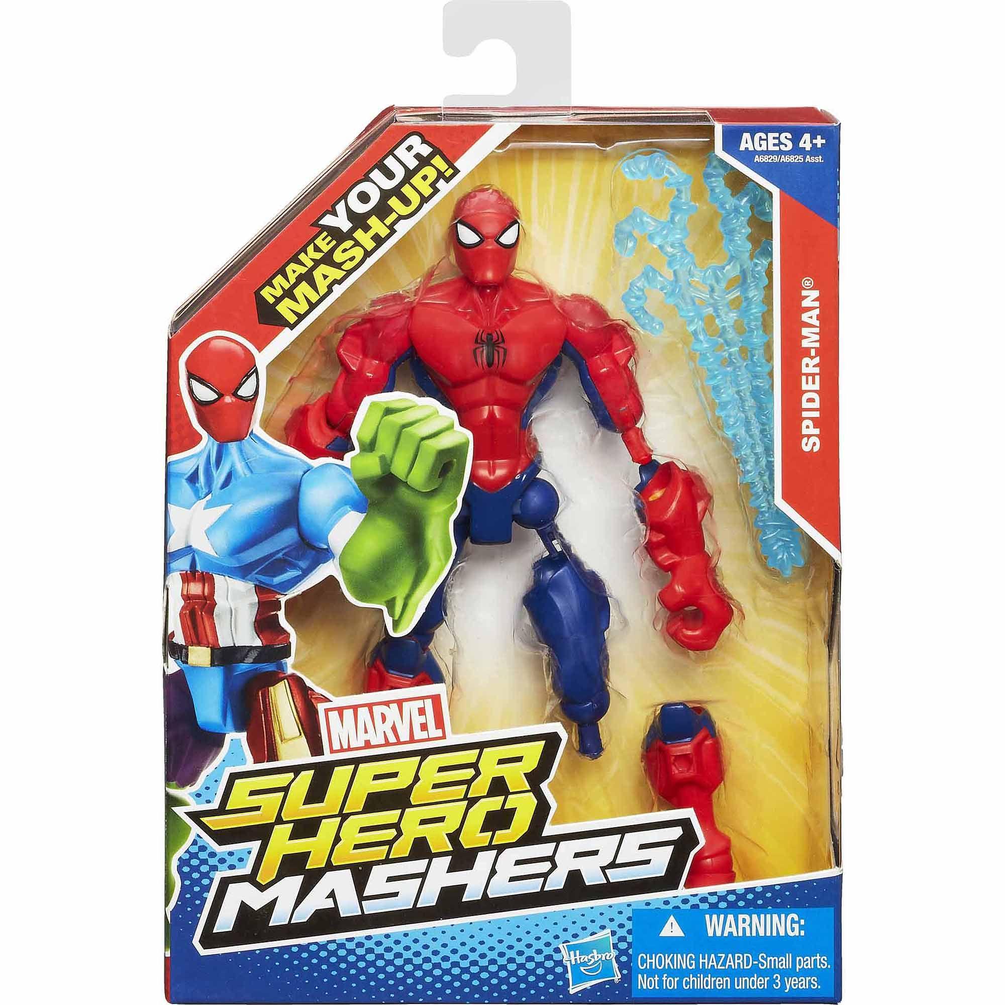 Walmart Toys For Boys Avengers : Marvel super hero mashers spider man figure walmart