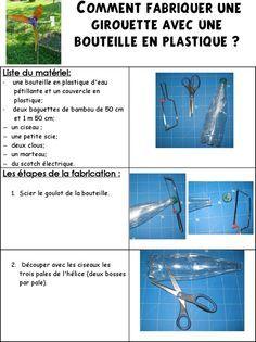 Site Internet De L Ecole Maternelle Danielle Casanova Comment Fabriquer Une Girouette Avec Une Bouteille De Plastique