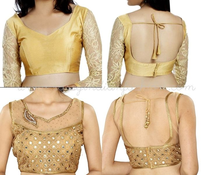 7c13ff13d43ddf 70+ Ultimate Latest Net Blouse Designs For Sarees | Cuts Patterns ...