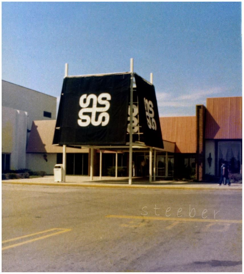 The First Shopping Mall In The Gem City Was The Salem Mall In Trotwood Trotwood Dayton Ohio Abandoned Cities