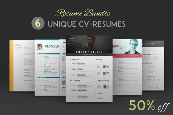 Best Resume Bundle CreativeWork247 - Fonts, Graphics, Themes - best resume fonts