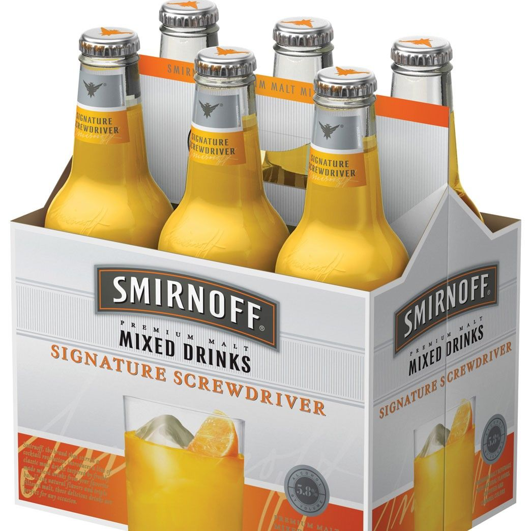 Smirnoff Flavored Malt Beverages Start Summer Early New Products