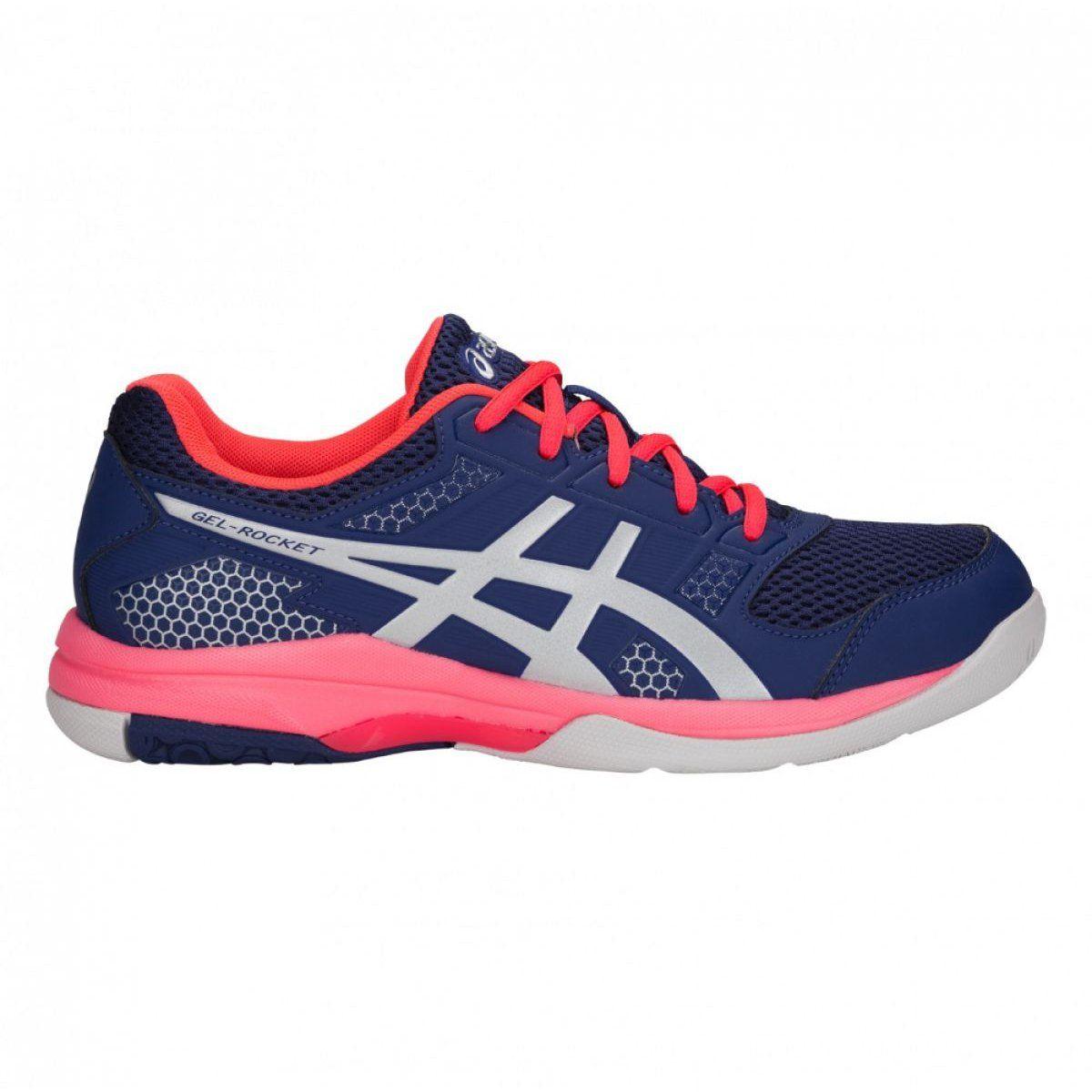 Volleyball Shoes Asics Gel Rocket 8 W B756y 400 Navy Navy Asics Volleyball Shoes Asics Women