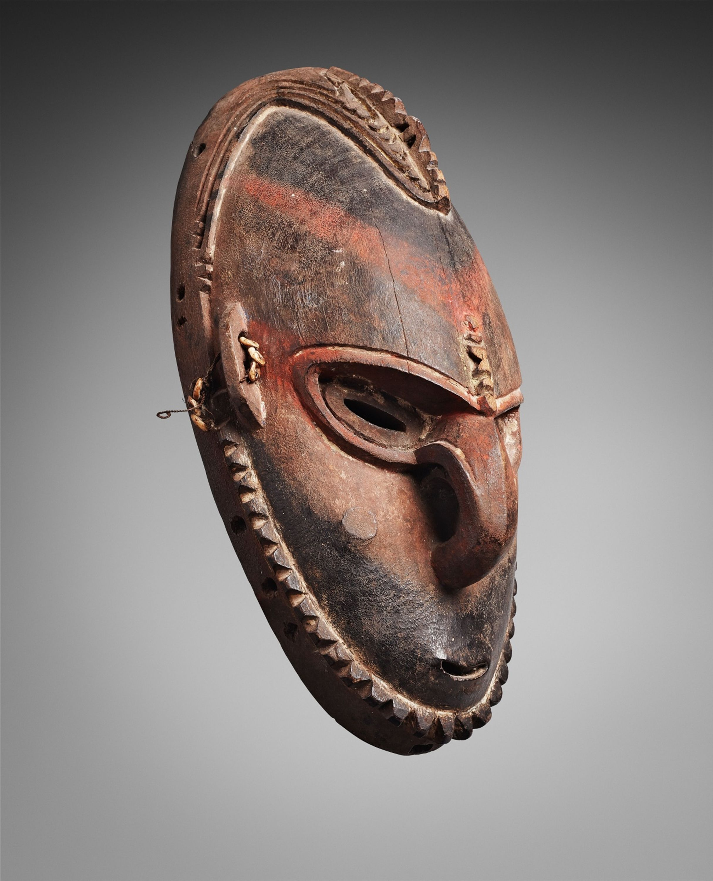 Papua New GuineaA SEPIK MASK, Auction 1063 African and Oceanic Art, Lot 122