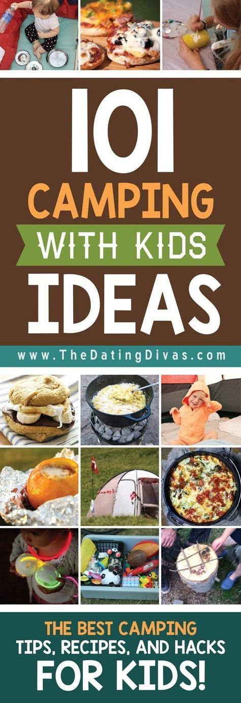 Camping Activities For Kids | From The Dating Divas