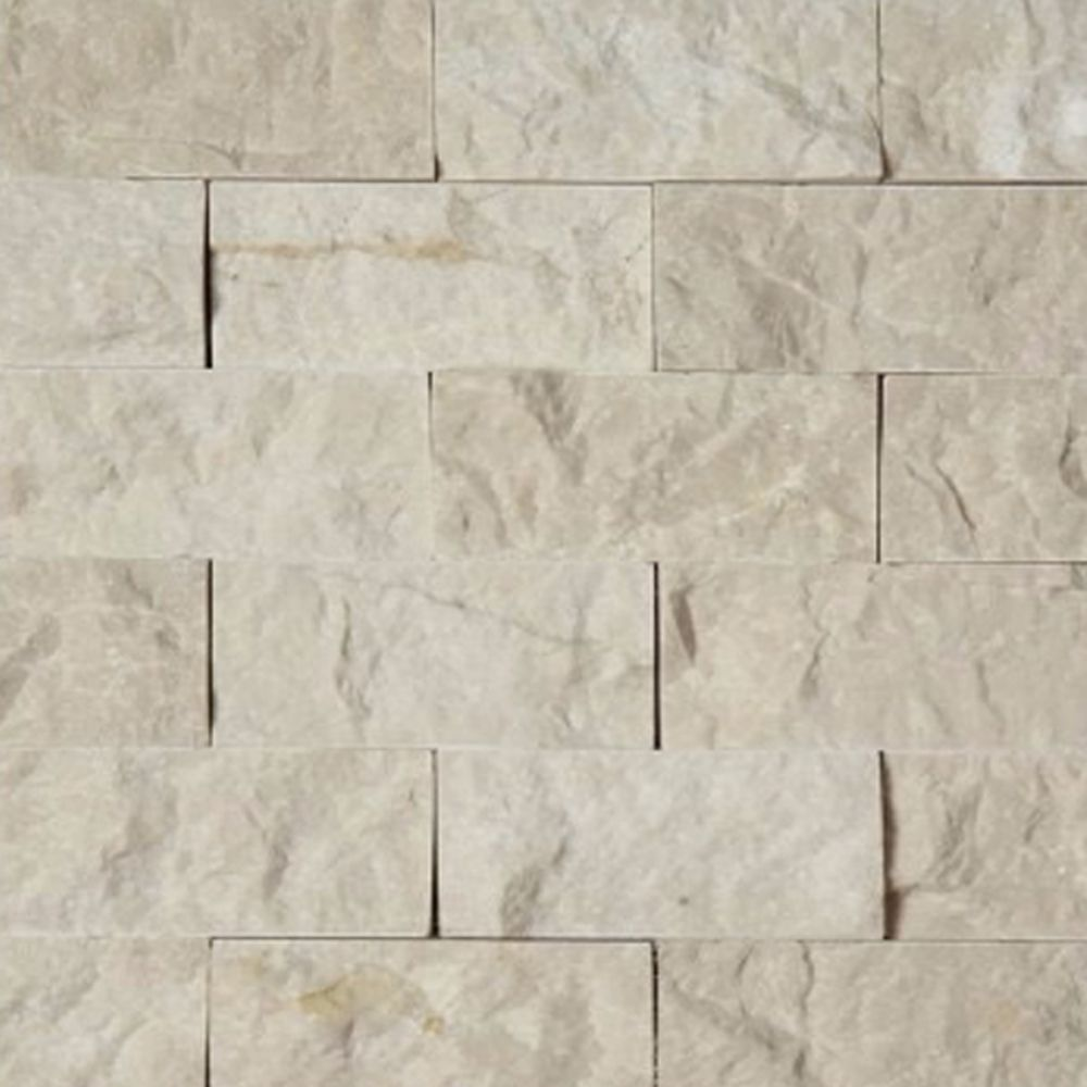 2 x 4 split face mosaic tile beige marble honed kitchen backsplash 2 x 4 split face mosaic tile beige marble honed dailygadgetfo Images