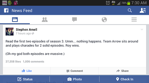 Stephen Amell on the first two episodes of Arrow Season 3
