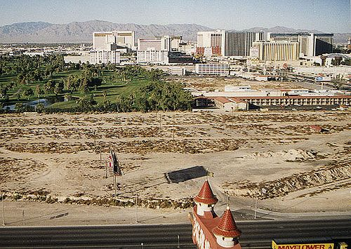 Las Vegas 94 >> 1994 New York New York Empty Lot Las Vegas Nv Vegas