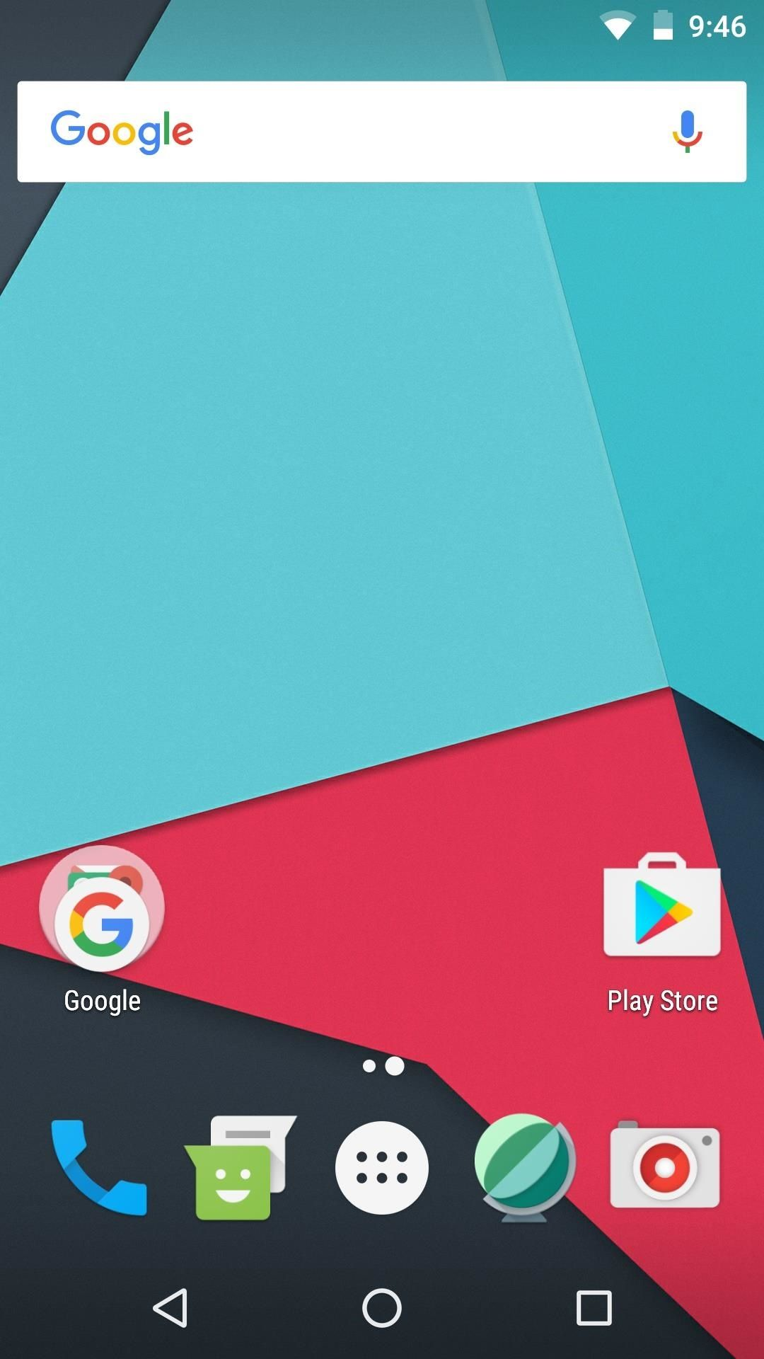 How To Get Search Bar On Top Of Screen