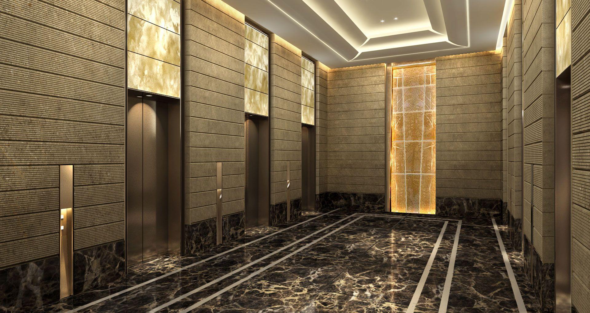 lift lobby design - Google  | // interior/ lobby ...
