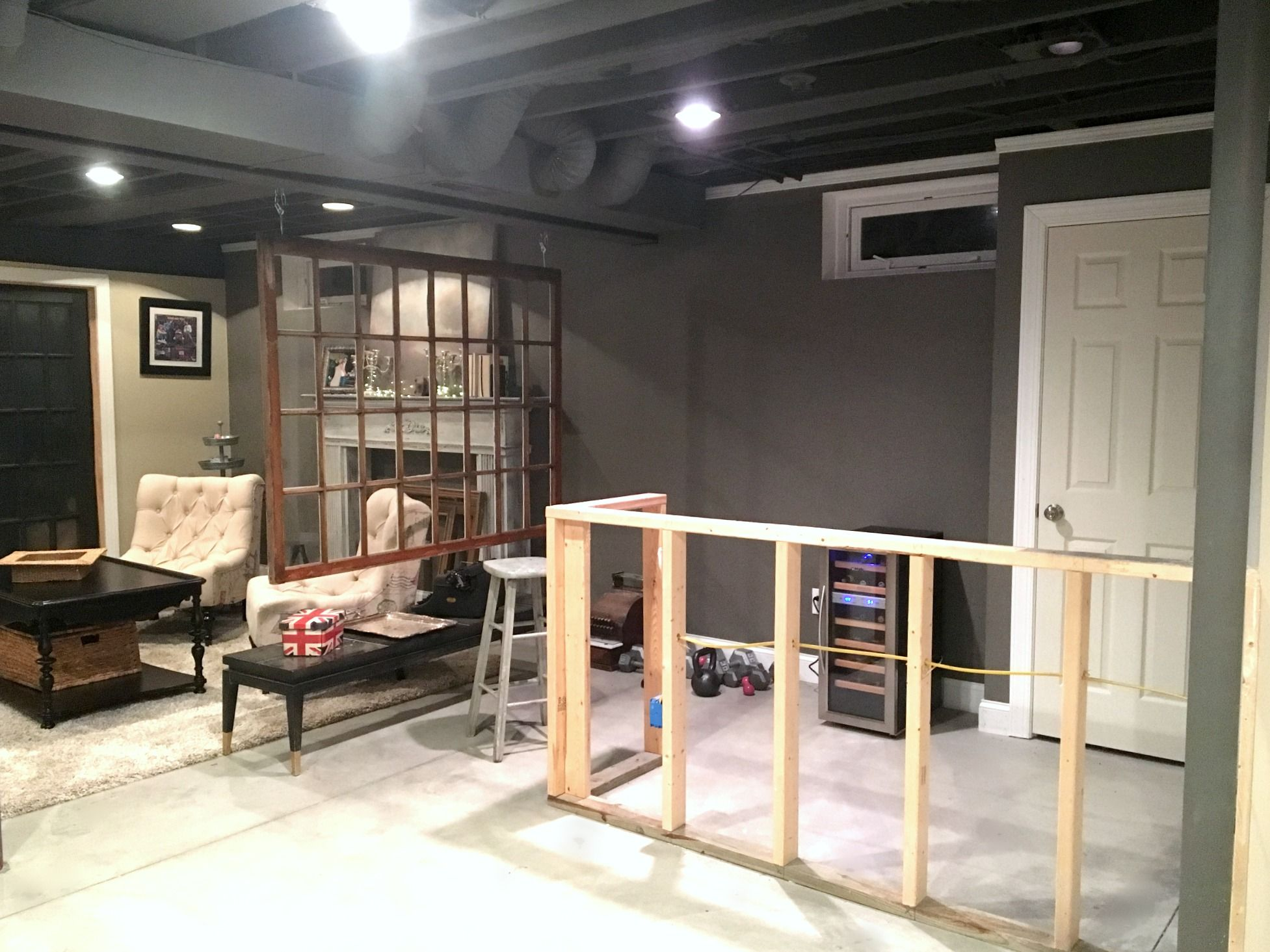 Diy Decor Industrial Basement Remodel Basement Remodeling
