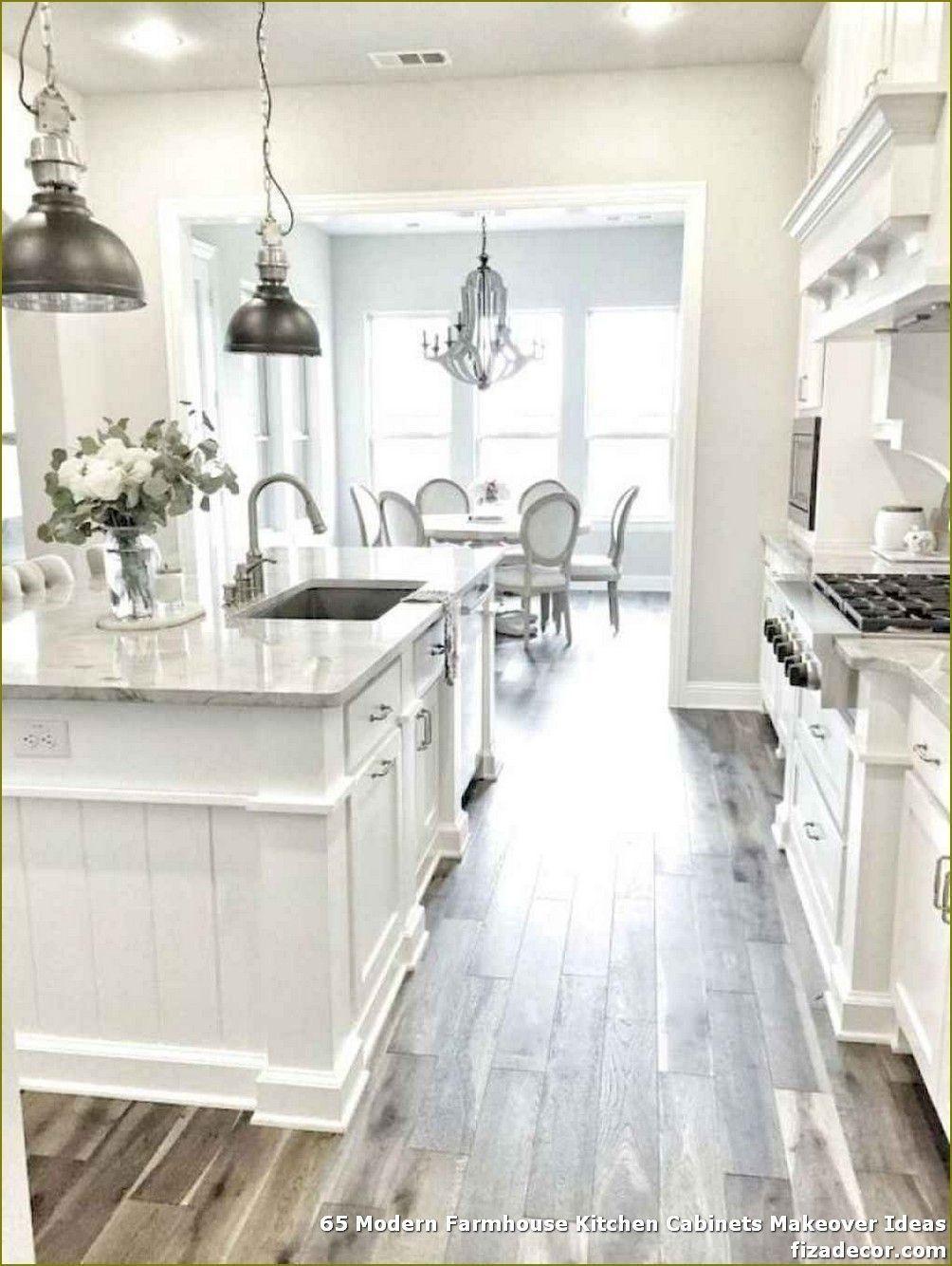 35 Amazingly Creative And Stylish Farmhouse Kitchen Ideas Antique White Kitchen Antique White Kitchen Cabinets Kitchen Cabinet Design