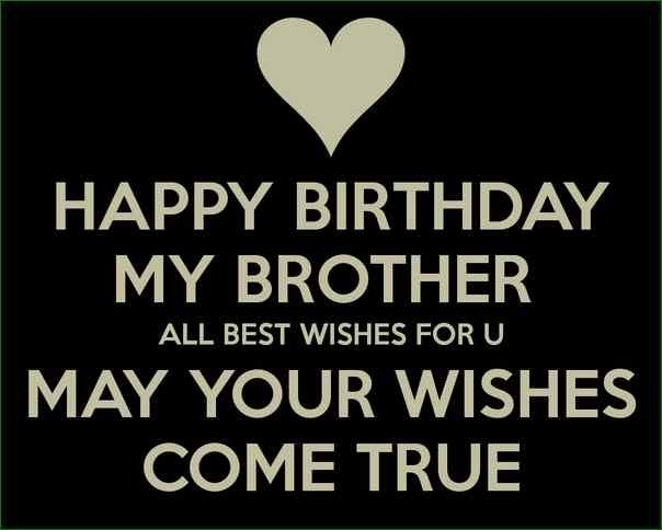Happy Birthday Best Wishes For Brother Happy Birthday Best Wishes For Brother Happy Birthday Brother Quotes Happy Birthday Brother Happy Birthday My Brother