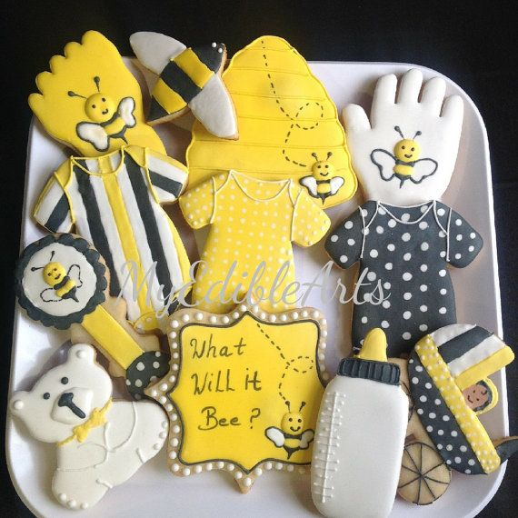 Check out this item in my Etsy shop https://www.etsy.com/listing/287999307/what-will-it-bee-unisex-cookies