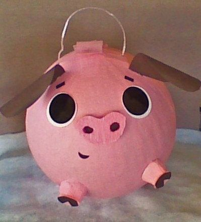 Pinata del cerdo.  Bebé cerdo Pinata.