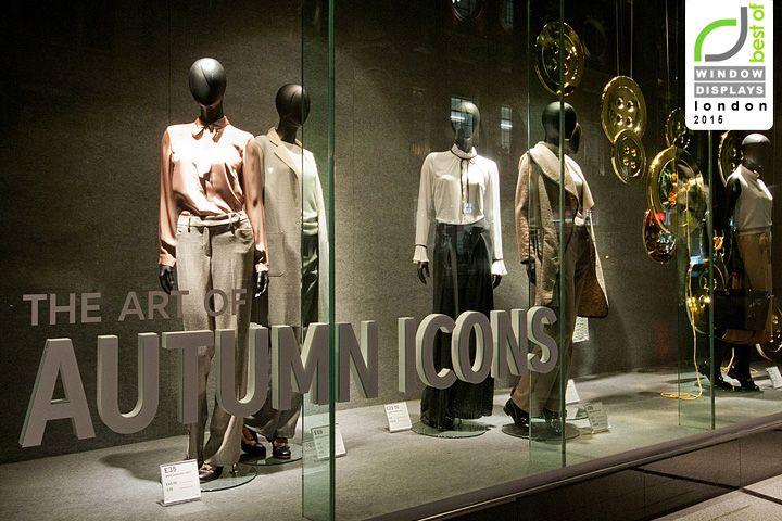 Marks & Spencer windows 2015 Fall, London UK » Retail