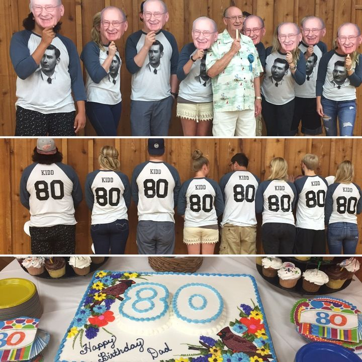 Pin By Angelia Filer On Nana S Bday In 2020 80th Birthday Party