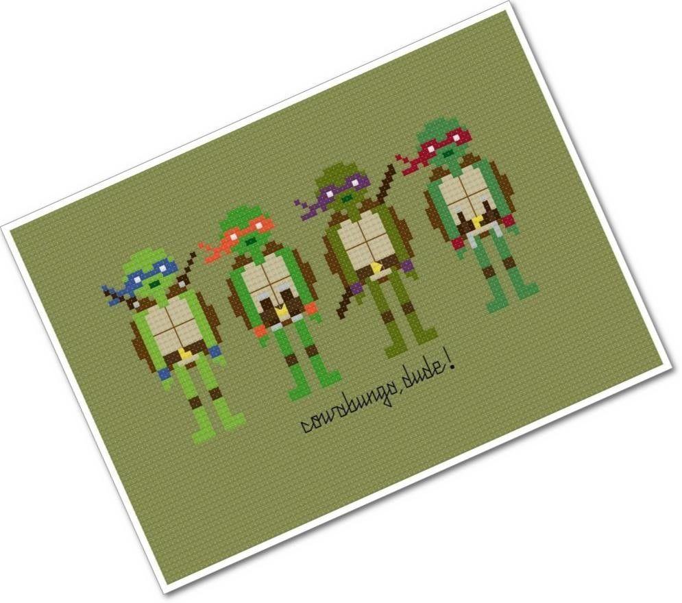 Teenage Mutant Ninja Turtles - The *Original* Pixel People - PDF ...