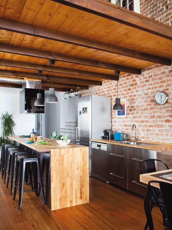 Prácticas cocinas con barra - cocinas con barra