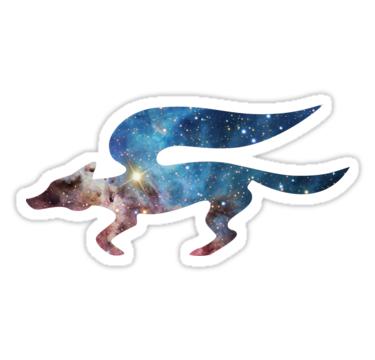 Cosmic Star Fox Sticker By Jason Mcnaughton Star Fox Super Smash Bros 64 Fox Logo
