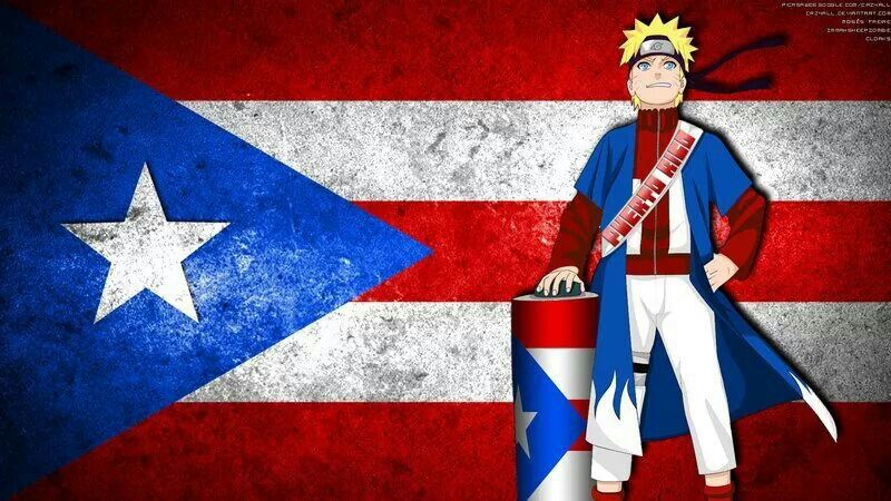 Captain America As Captain Puerto Rico