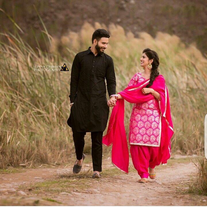 Pin by Amanpreet on $ŤUÑŃ¡Ğ CØÚP£€$ | Punjabi couple ...