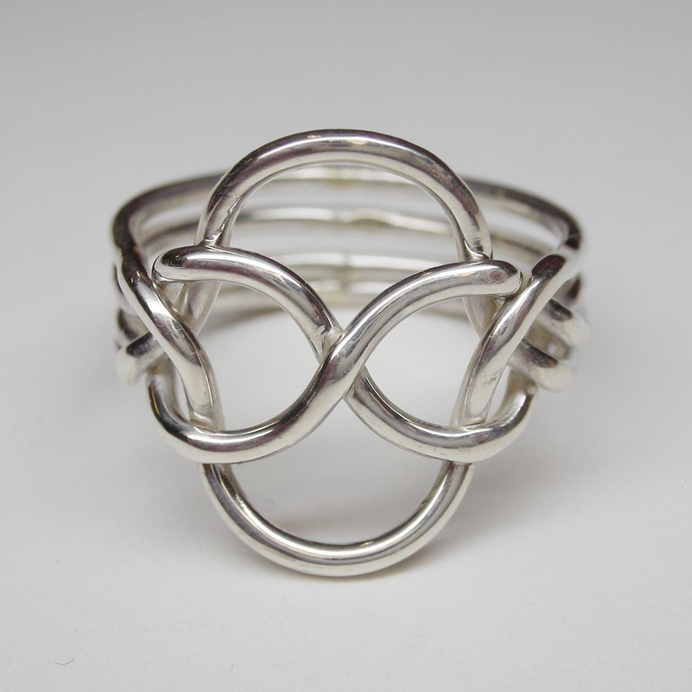 knot puzzle ring - Google Search | Knots | Pinterest | Puzzle ring ...