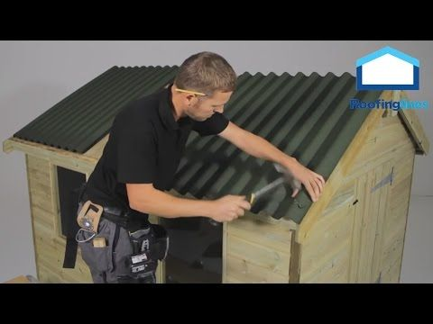 How To Install Corolux Pvc Roof Sheets Youtube Pvc Roofing Man Shed Corrugated Roofing