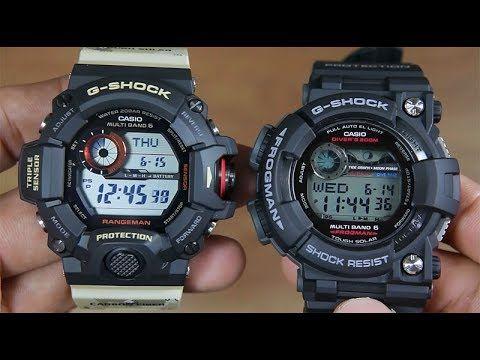 51dcb98c0d CASIO G-SHOCK RANGEMAN GW-9400DCJ VS FROGMAN GWF-1000-1 - YouTube ...