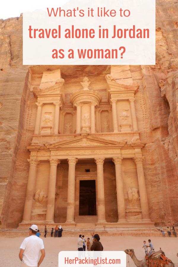 Solo Female Travel: Traveling Alone in Jordan as a Woman #travelalone