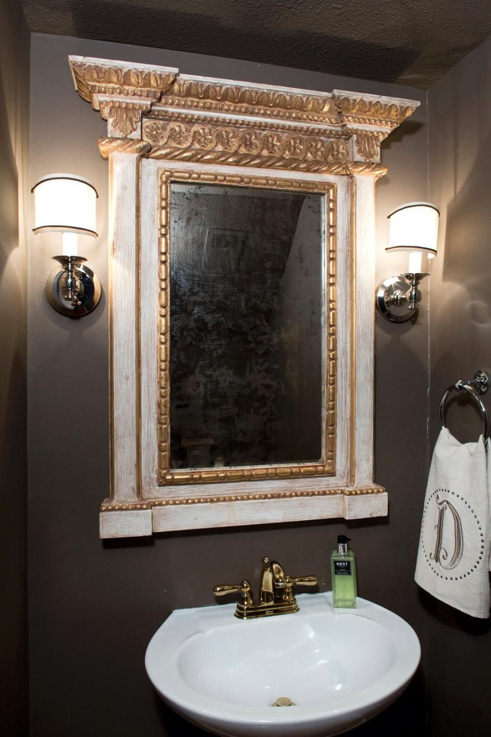 Mirror Injects The Small Bathroom