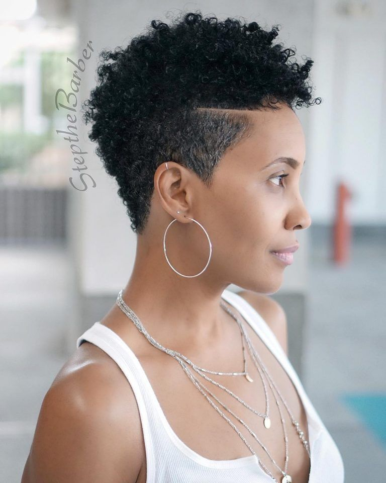 80 Fabulous Natural Hairstyles Best Short Natural Hairstyles 2020 Natural Hair Styles Fade Haircut Women Tapered Natural Hair