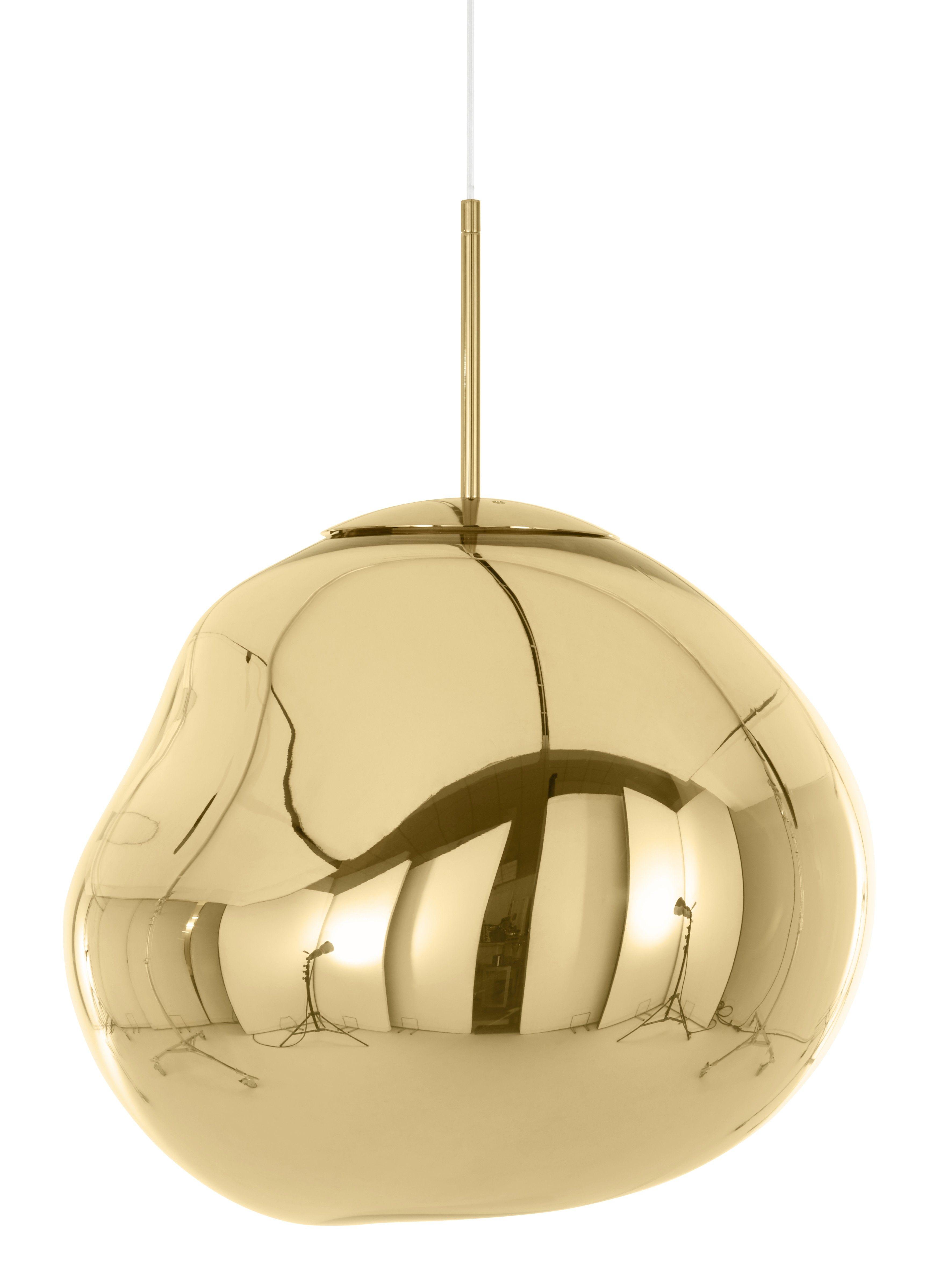 Tom Dixon Melt Pendant Lamp Gold Pendant Lighting Tom Dixon Melt Ceiling Pendant Lights