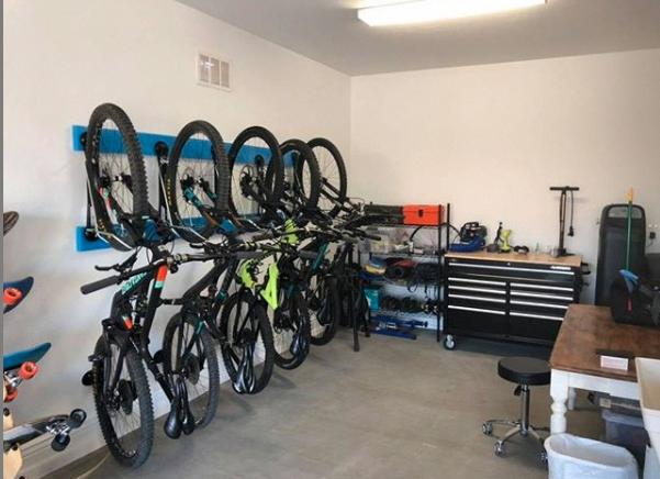 Bicycle Storage Garage Ceiling In 2021 Bike Storage Solutions Bicycle Storage Urban Bicycle Design