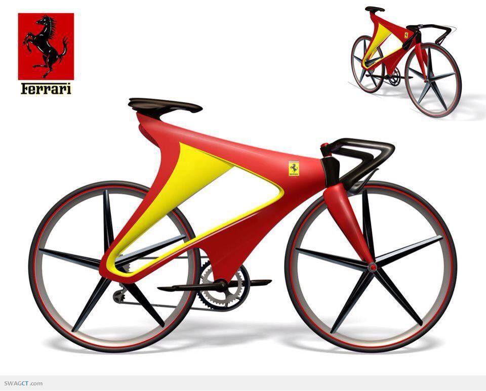 Looks Faster Than The Cars Bicycle Ferrari Bike Bicycle Design